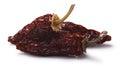Chipotle morita-smoked Jalapenos, paths Royalty Free Stock Photo