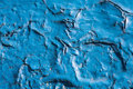 Chipped blue paint background texture closeup Royalty Free Stock Image