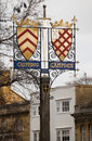 Chipping Campden coat of arms Stock Photos