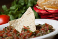 Chips and salsa Royalty Free Stock Images