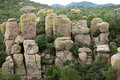 Chiricahua National Monument, Arizona Stock Photo