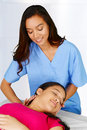 Chiropractor Royalty Free Stock Photo