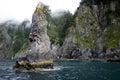 Chiswell Islands, Kenai Fjords National Park, Alaska Royalty Free Stock Photo