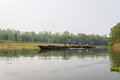 Chitwan nepal march boat safari in chitwan nepal сanoe the national park india Stock Photos