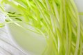 Chives yellow fresh - cooking ingredients Stock Photos