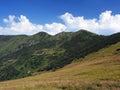 Chleb peak in summer