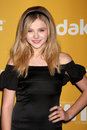 Chloe Grace Moretz arrives at the City of Hope's Music And Entertainment Industry Group Honors Bob Pittman Event Stock Images