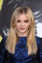 Chloe Grace Moretz,The Darkness Royalty Free Stock Photos