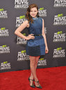 Chloe grace moretz at the mtv movie awards at sony studios culver city april los angeles ca picture paul smith featureflash Stock Images
