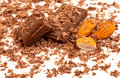 Choc and Nuts Royalty Free Stock Photo