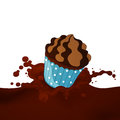 Choco Splash Royalty Free Stock Photos