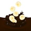 Choco Splash Royalty Free Stock Images