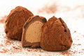 Chocolade truffels Royalty Free Stock Images