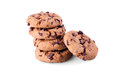 Chocolat chip cookies Photographie stock