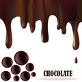 Chocolate background Royalty Free Stock Image