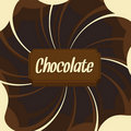 Chocolate background Stock Photos