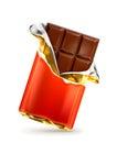 Chocolate bar illustration