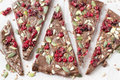 Chocolate bark Royalty Free Stock Photo