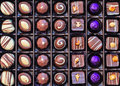 Chocolate box handmade finest luxury in a Royalty Free Stock Photography