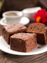 Chocolate brownie Royalty Free Stock Image