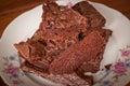 Food: Brownie Royalty Free Stock Photo