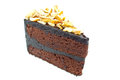 Chocolate cake. Stock Images