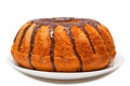 Chocolate cake gugelhupf and carrots gugelhupf is a southern german austrian swiss and alsatian term for a marble or bundt Stock Image