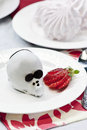 Chocolate cake mouse Royalty Free Stock Images