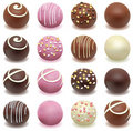 Chocolate candies Stock Photography