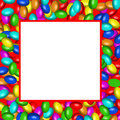 Chocolate candies frame (AI format available) Stock Images