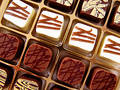 Chocolate candy Stock Photo