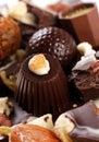 Chocolate candy Stock Photos