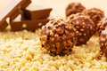 Chocolate candy with nuts Royalty Free Stock Photo