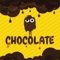 Chocolate Cartoon Background