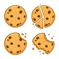 Chocolate chip cookie set
