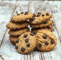 Chocolate chip cookie Royalty Free Stock Photo