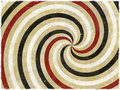Chocolate colors swirl background wallpaper an illustration of on a paper like texture Royalty Free Stock Images