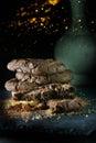 Chocolate Cookies II Royalty Free Stock Photo