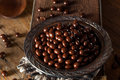 Chocolate Covered Espresso Coffee Beans Royalty Free Stock Photo