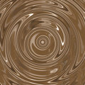 Chocolate Cream Swirl Royalty Free Stock Photo