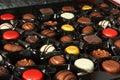Chocolate gift box nnewyear ngift nfor you ndelicious nyummy ndainty nluscious nnice npalatable nsweet Stock Images