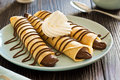 Chocolate Hazelnut Nutella Spread Dessert Crepes