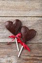 Chocolate hearts Royalty Free Stock Photo