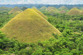 Chocolate Hills Stock Image