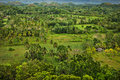 Chocolate hills bohol island philippines panoramic view of the Stock Photography