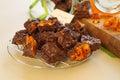 Chocolate Honeycomb Stock Photo