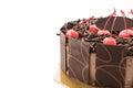 chocolate ice-cream cake Royalty Free Stock Photo