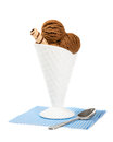 Chocolate Ices Royalty Free Stock Image