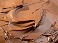 Chocolate icing Stock Photos