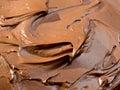 Chocolate icing Royalty Free Stock Photo
